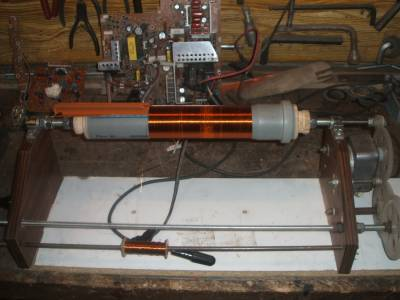 Намотачный станок для катушек тесла